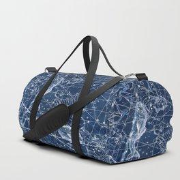 Pisces sky star map Duffle Bag