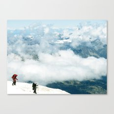 teamwork Canvas Print