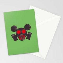 Gas Mausk Stationery Cards