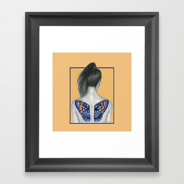 Learn To Fly Framed Art Print