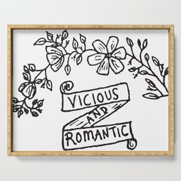 Vicious and Romantic Serving Tray