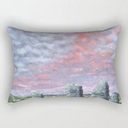 The Aneurin Bevan Monument Rectangular Pillow