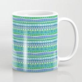 Stripey-Oceania Colors Coffee Mug
