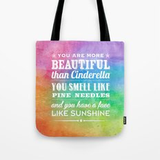 Sunshine Face Tote Bag
