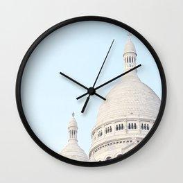 Blue Paris Wall Clock