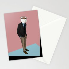IT'S MORNING AND I THINK OF YOU Stationery Cards