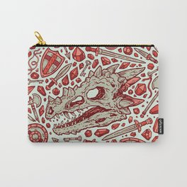 Hoard of the Gem Dragon | Ruby Carry-All Pouch