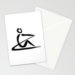 Rowing Logo 1 Stationery Cards
