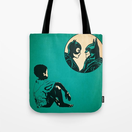 Watching Wild Life Tote Bag