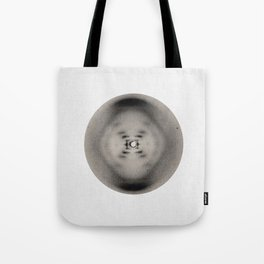 X-ray diffraction image of DNA Tote Bag