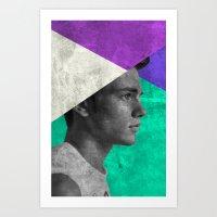 MAN #1 Art Print