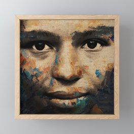 The Human Race 6 Framed Mini Art Print