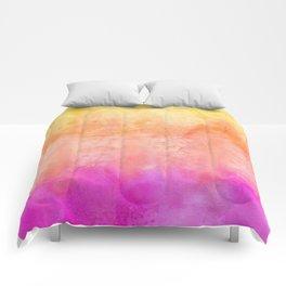 Bright Sunrise Tones Comforters