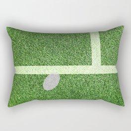 """IN"" – Hawk-Eye - green Rectangular Pillow"