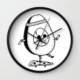 Pizzacado Wall Clock