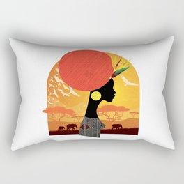 The Cradle of Civilization Rectangular Pillow
