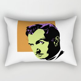 Vincent Price (Colour) Rectangular Pillow
