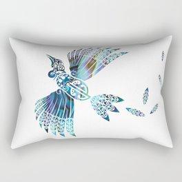 Tui Paua Rectangular Pillow