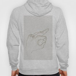 Angry Hands - Gold Hoody