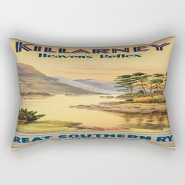 Vintage poster - Ireland Rectangular Pillow