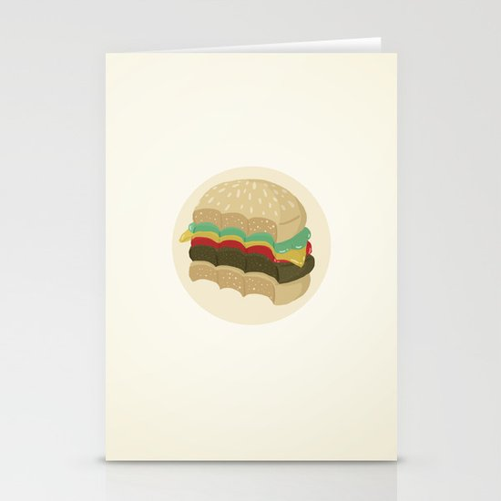Totally a Burger Stationery Cards