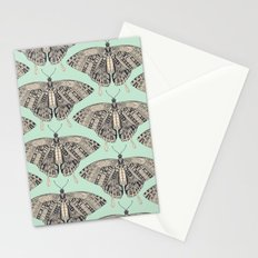 swallowtail butterfly mint basalt Stationery Cards