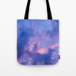Dusk Clouds Tote Bag