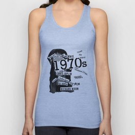 Misanthrope 70's Shirt Unisex Tank Top