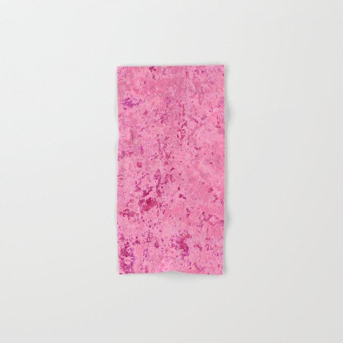 pink marble Hand & Bath Towel