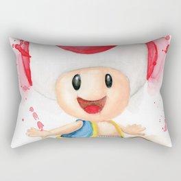 Toad Rectangular Pillow
