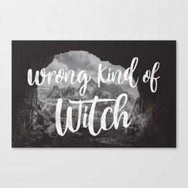 Manon Blackbeak - Wrong kind of witch Canvas Print