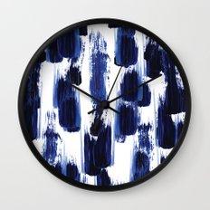 Blue mood Wall Clock