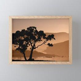 Golden Light Framed Mini Art Print