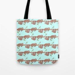 Lazy Baby Sloth Pattern Tote Bag
