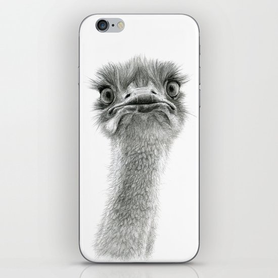 Cute Ostrich SK053 iPhone & iPod Skin