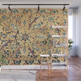 Kermina  Suzani  Antique Uzbekistan Embroidery Print Wall Mural