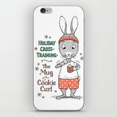 Holiday Curls iPhone & iPod Skin