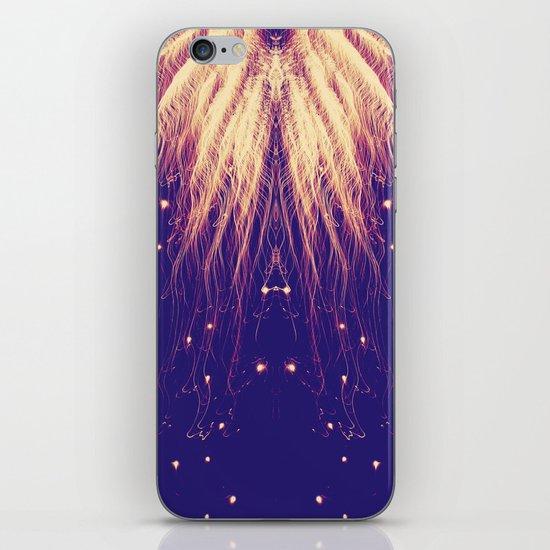 Fire Hair iPhone & iPod Skin