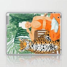 Jungle Vacay #painting #illustration Laptop & iPad Skin