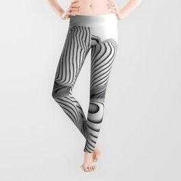 Bio Flower Art Print Leggings