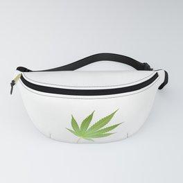 Hemp Pot Leaf 420 Cannabis Fanny Pack