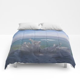 Cave Point Icicle Tree Comforters