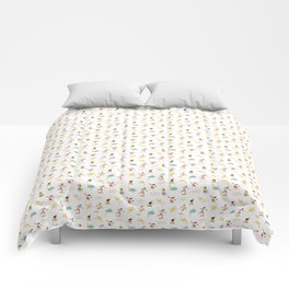 You go, girl pattern! Comforters