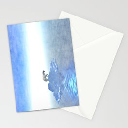 Polar Bear On Iceberg Stationery Cards