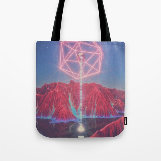Teleportation Tote Bag