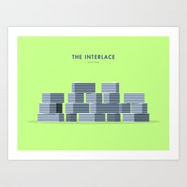 The Interlace, Singapore [Building Singapore] Art Print