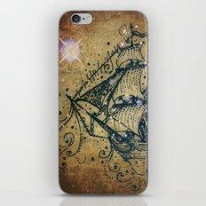 The Great Sky Ship iPhone & iPod Skin