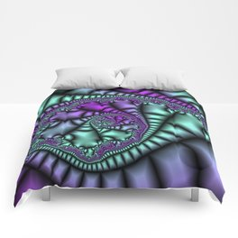 Cocoon Fractal Comforters