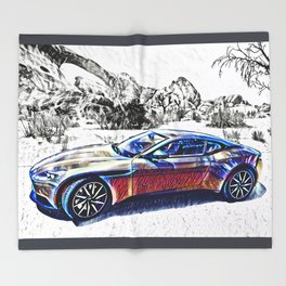 Travel In Style Throw Blanket