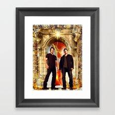 The Winchester Gate Framed Art Print